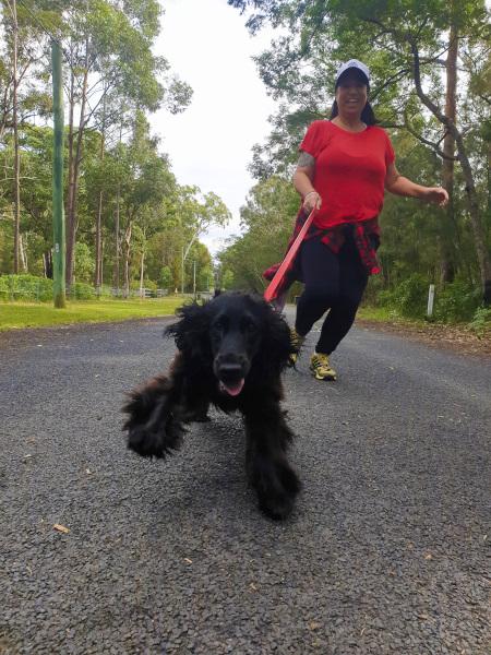First Walks with Puppy Ella