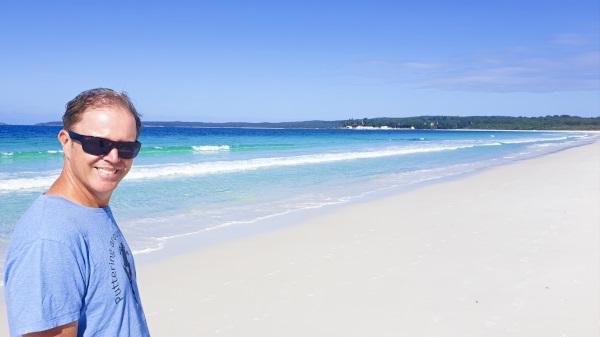Beautiful Hyams Beach