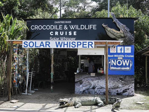Crocodile and Wildlife Cruise Solar Whisper