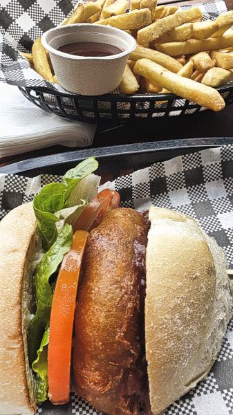 Veggie Burger in Port Douglas