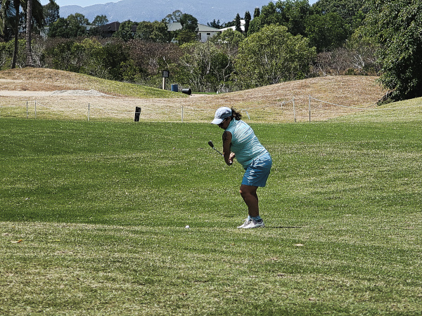 Approaching 7 at Townsville Golf Club