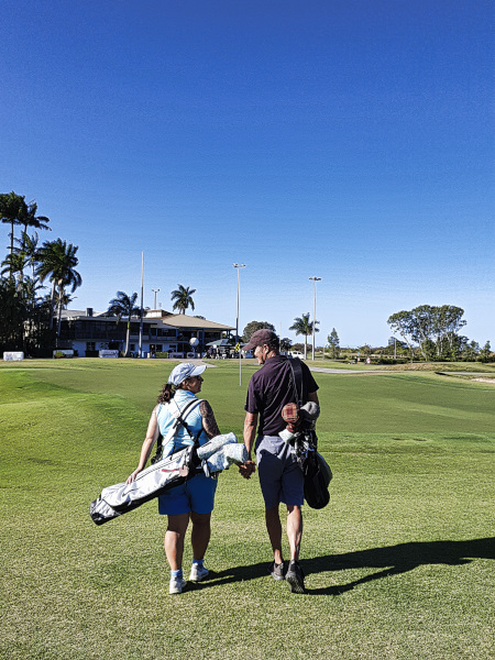 Challenge accepted at Townsville Golf Club