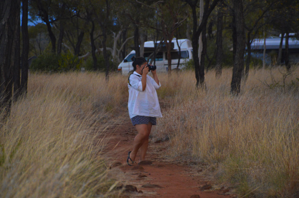 Kangoroo Spotting at Porcupine Gorge National Park