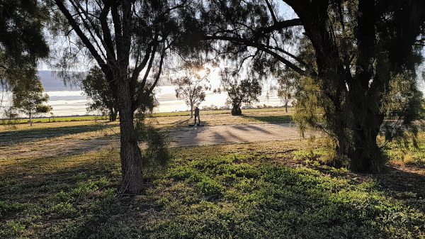 Way left on seven at Coonamble Golf Club