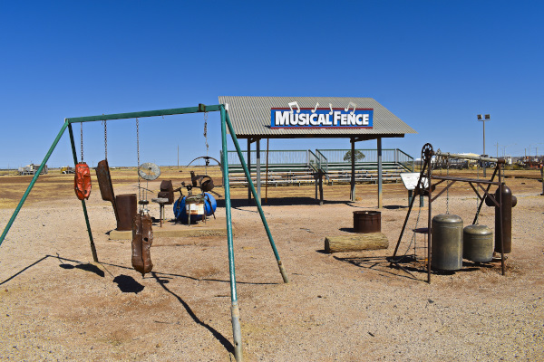 The Musical Fence is a Must Do in Winton