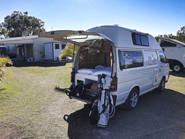 Camping and golf at Brandybottle Golf Club Unsere Lieblingscampingplätze in Queensland