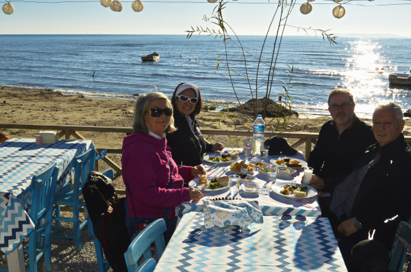 Family time on the West Coast of Turkey