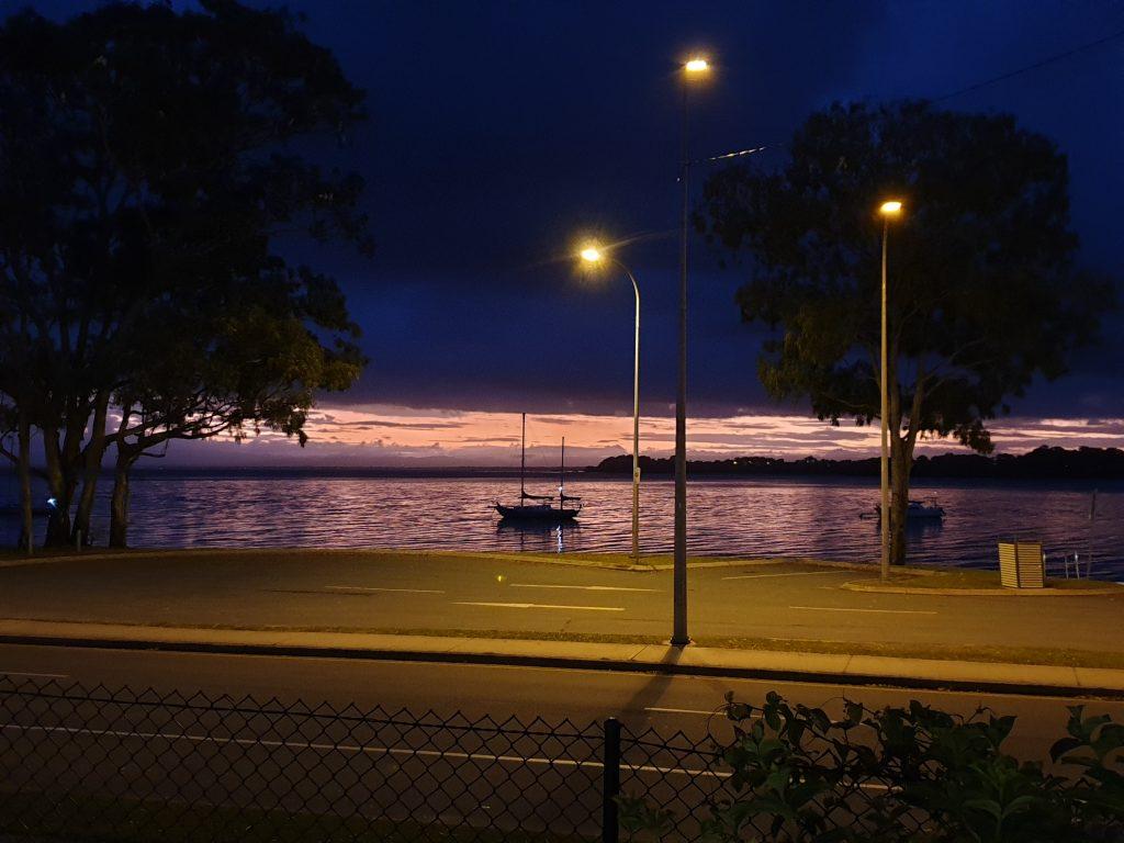 Views from the Bongaree Caravan Park