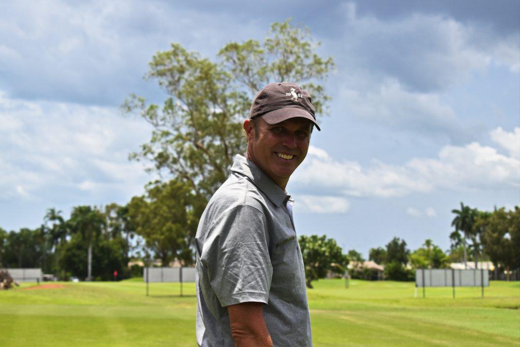 Happy at Darwin Golf Club