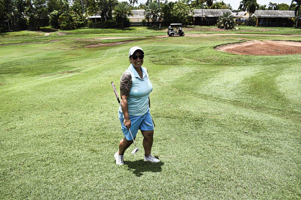 Playing well at Darwin Golf Club