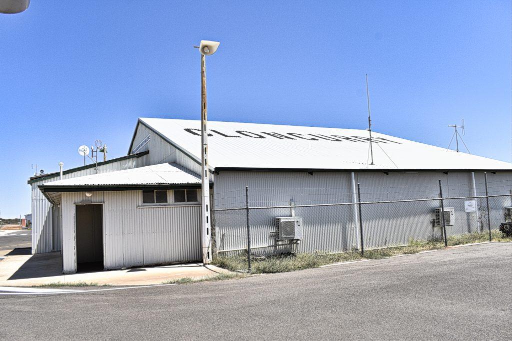Qantas Hangar in Cloncurry