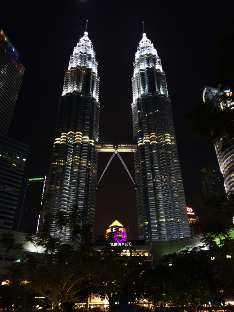 The landmark of Kuala Lumpur - Petronas Towers