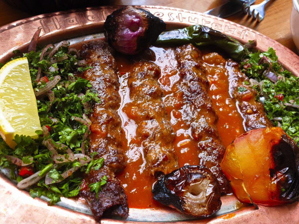 Kebabs at Halab