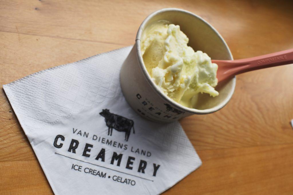 Favorite Ice Cream at Van Diemens Land Creamery