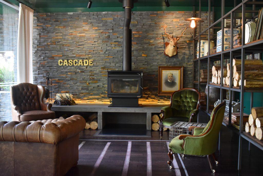 Inside the Cascade Brewery