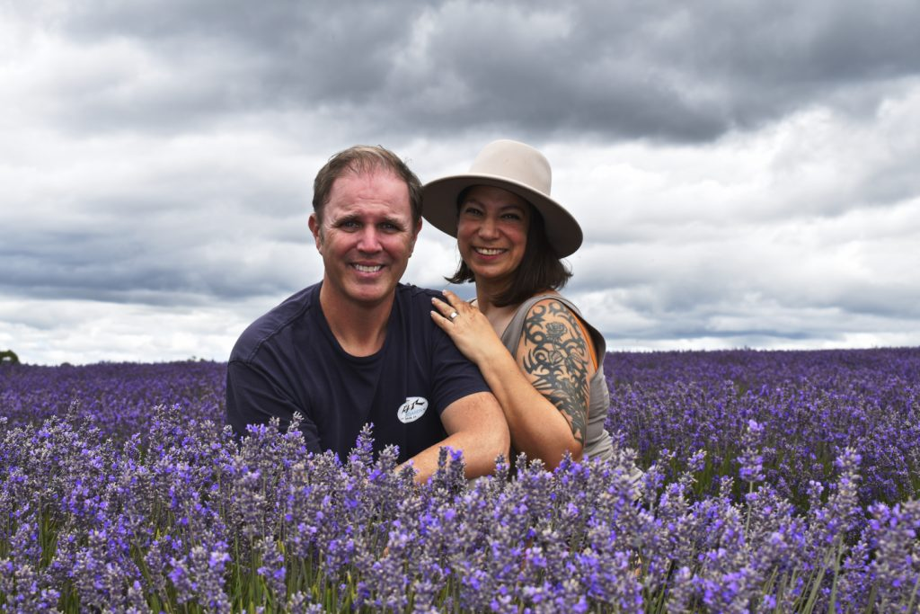 Great time at the Bridestowe Lavender Fields