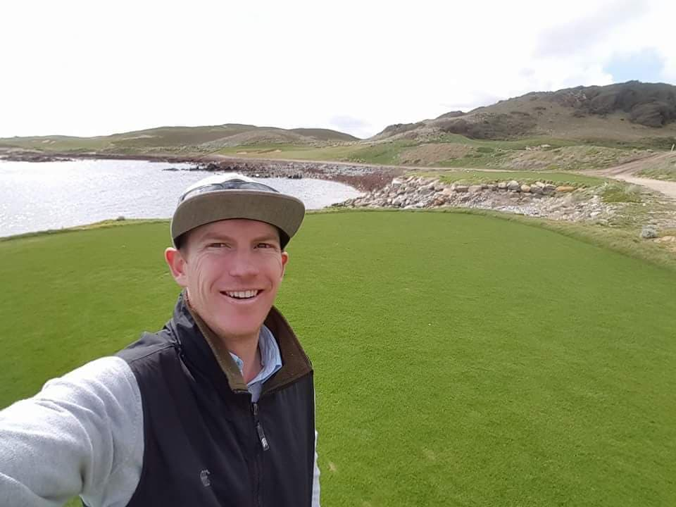Catching up with Tyson Flynn at Ocean Dunes