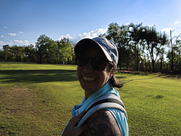 Smiles at Humpty Doo and Rural Area Golf Club