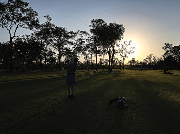 The 8th fairway at Humpty Doo and Rural Area Golf Club