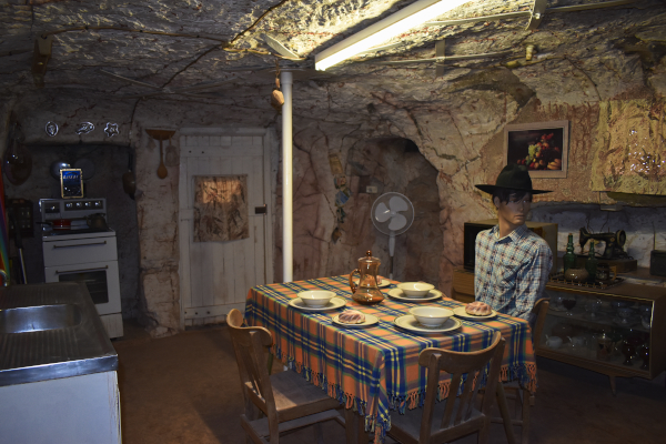 A typical Dugout in Coober Pedy