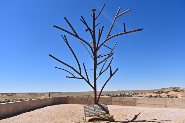 The Steel Tree at The Big Winch