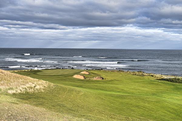 Dunluce green at Ocean Dunes Golf Course
