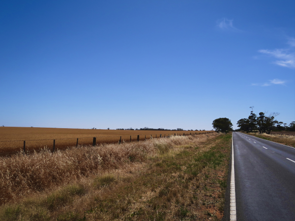 On the Road in South Australia