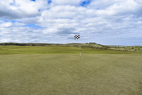 Kelpers green at Ocean Dunes Golf Course
