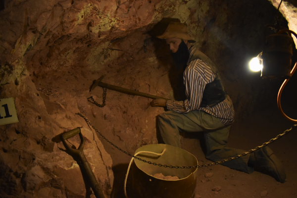 Opal Miner in Coober Pedy