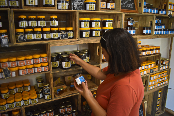 Shopping at The Honey Pot and Bruny Island Honey die Top Highlights auf Bruny Island
