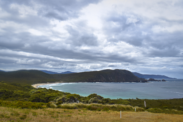View from the Bruny Island Lightouse