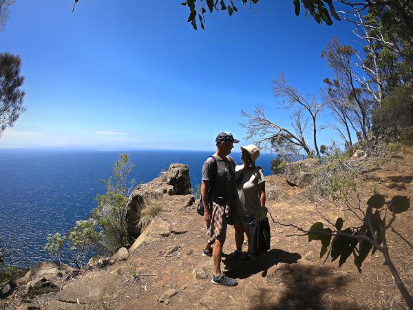 Exploring Bruny Island