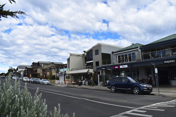 Main Street in Point Lonsdale