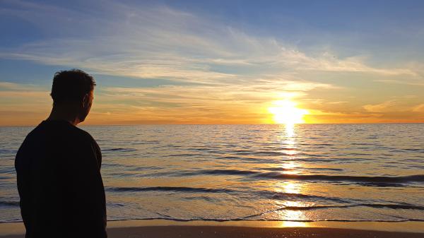 Sunset in Kingston SE