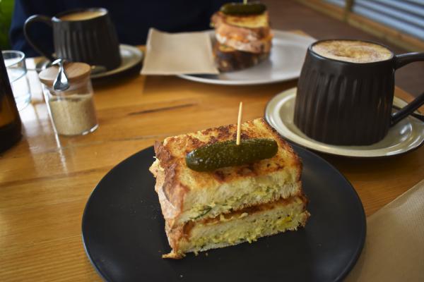 Vegan Sourdough Toasties at Bricktown
