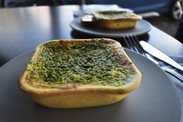 Vegetarian Pastry at the Rolling Pin in Queenscliff