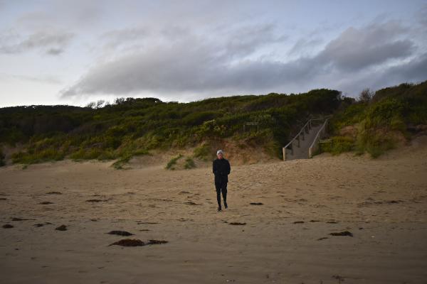 James at Norman Beach