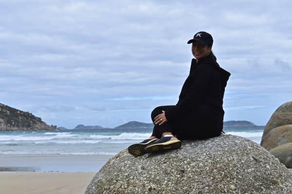 Enjoying the Ocean Breeze
