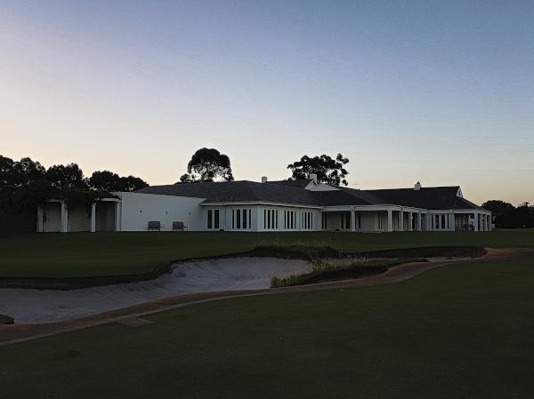 The Clubhouse at Kingston Heath Golf Club