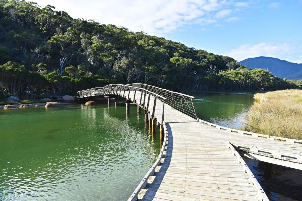 Tidal Bridge, Wilsons Promontory National Park