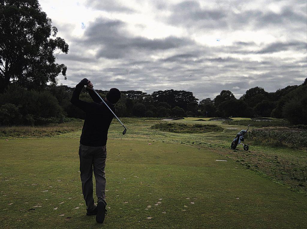Don't go long on thirteen at Royal Melbourne Golf Club
