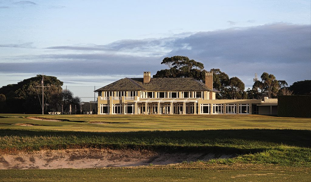 The Clubhouse at Royal Melbourne Golf Club
